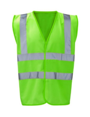 RTY Kids Enhanced Visibility EV87 Vest Green