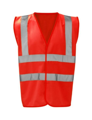 RTY Kids Enhanced Visibility EV87 Vest Red