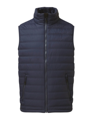 Castle Ribbed Bodywarmer 232 Sutton Navy