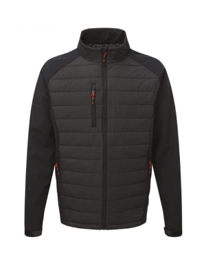 TuffStuff Ribbed Softshell Jacket 256 Snape Black